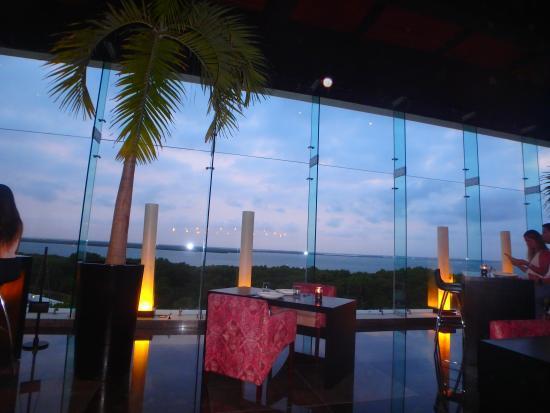 Grand Oasis Sens Gorgeous View From Sakura Restaurant