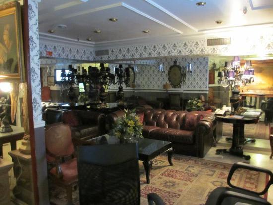Hotel Cristal Palace: Sala de espera del Hotel