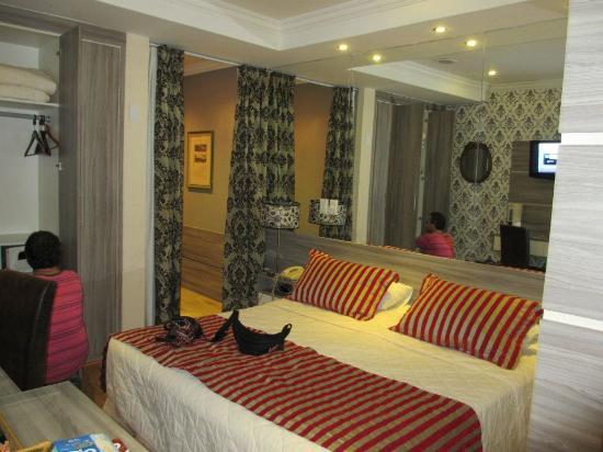 Hotel Cristal Palace: La habitación donde yo y mi pareja nos hospedamos