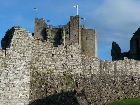 View of Trim Castle from Franzini's Restaurant
