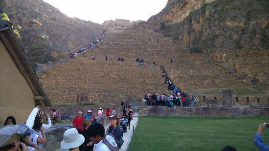 Ollantaytambo, Peru: Excelente
