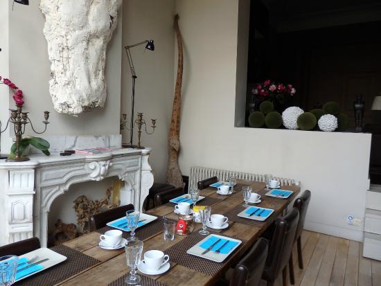 L'Art de la Fugue: 朝食はこちらでいただきます。