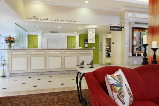 Front Desk Picture Of Hilton Garden Inn Chesapeake Greenbrier