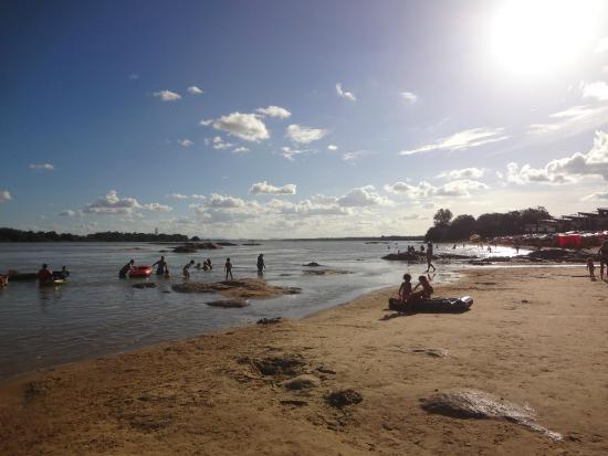 Ilha do Rodeador: Como Petrolina não tem praia, é a praia de lá!