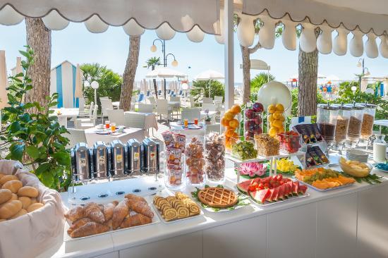 Hotel Sanremo: buffet colazioni
