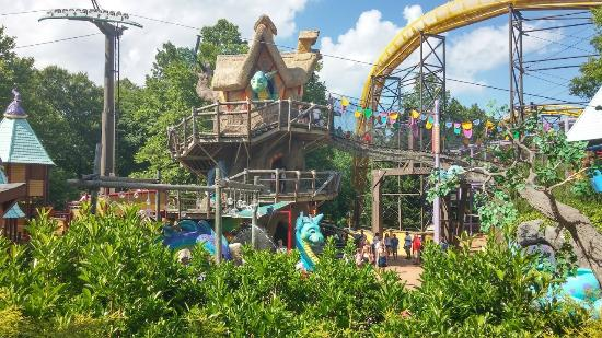 Land of the Dragons Picture of Busch Gardens Williamsburg
