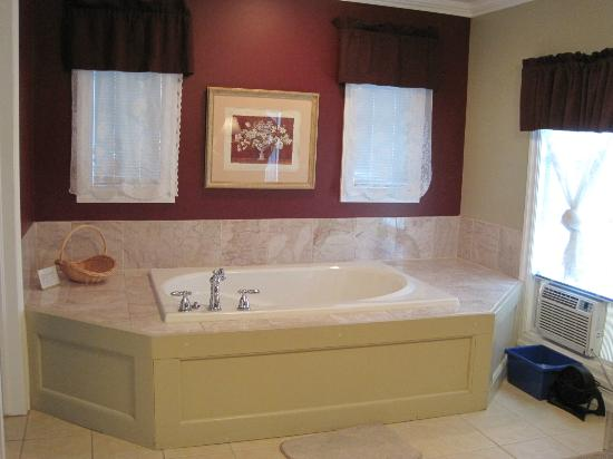 Accommodations Niagara Bed and Breakfast: Air-jet jacuzzi