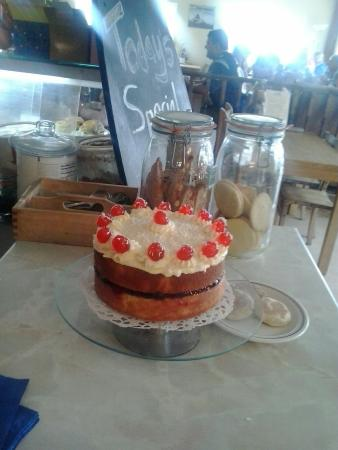 Sands Cafe: Homemade cakes,  made on the premises.