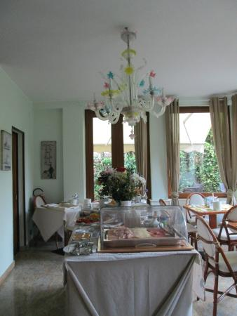 Villa Stella: The breakfast room.