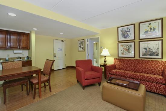 Homewood Suites by Hilton Chesapeake-Greenbrier: Guest Room
