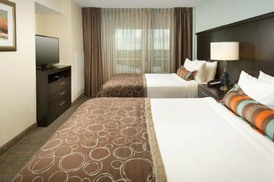 Staybridge Suites San Antonio NW Medical Center: Spacious Suite 2 Double Beds