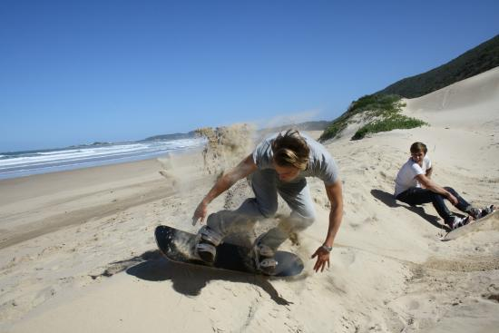 Brenton-on-Sea, South Africa: Knysna Sandboarding