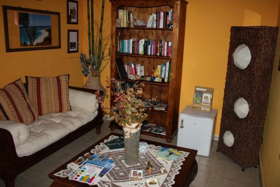 Antigua : salottino comune