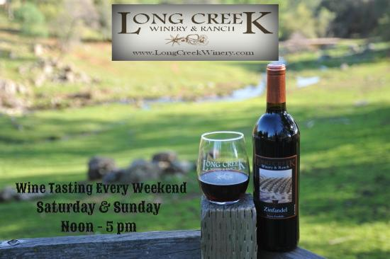 Long Creek Winery: Open weekends