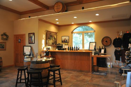 Oroville, Califórnia: The tasting room