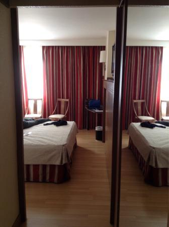 Hotel Albret: Chambre