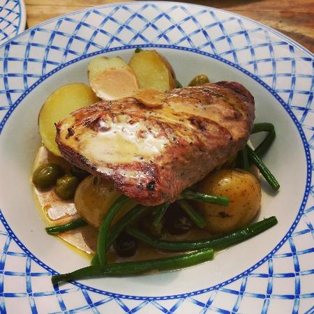 Kingston Arms: Specials board: Veal
