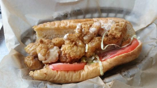 Andy's Cheesesteaks & Cheeseburgers: Shrimp Po' Boy (the sauce was amazing!)