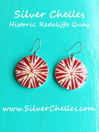 Silver Chelles : Seashell Earrings