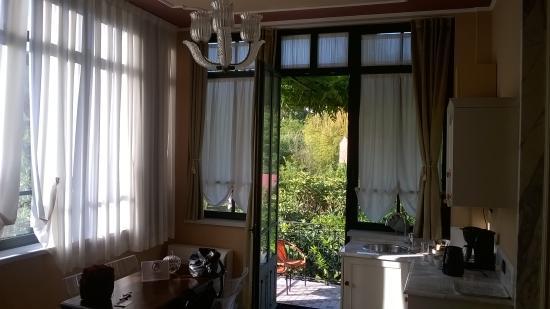 Villa Belverde: la veranda