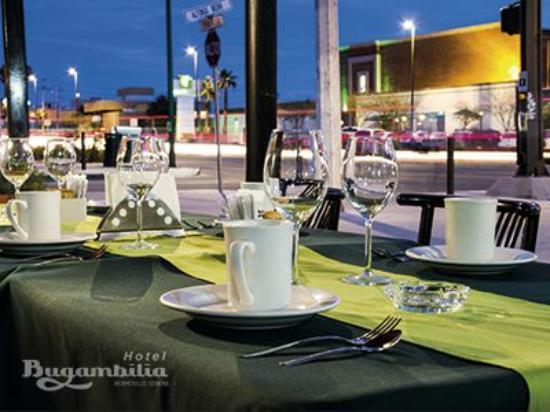 Bugambilia Hermosillo: Terraza Restaurante