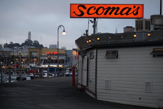 Scoma's: Sights around the restaurant.