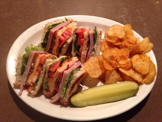 Zumbrota, MN: Club sandwich