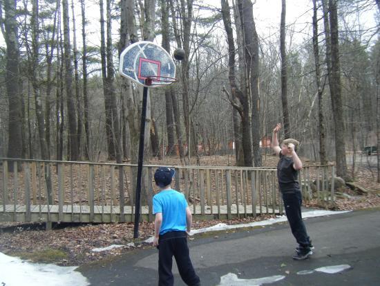 Saugerties/Woodstock KOA Campground : Basketball