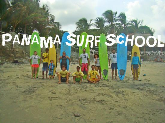 Panama Surf School Day Classes: Panama Surf School
