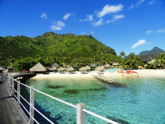 Papetoai, Polinesia Francesa: Beach
