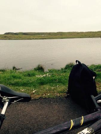 Rathlin Island, UK : Soerneog View - Bike Rentals