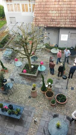 Hotel Restaurant Grieshabers Rebstock: Der Innenhof