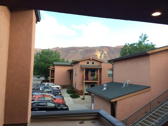 The Gonzo Inn: The view from just outside our room