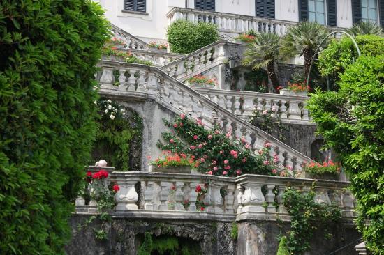 Treppen zum Garten - Foto di Villa Carlotta, Tremezzina ...
