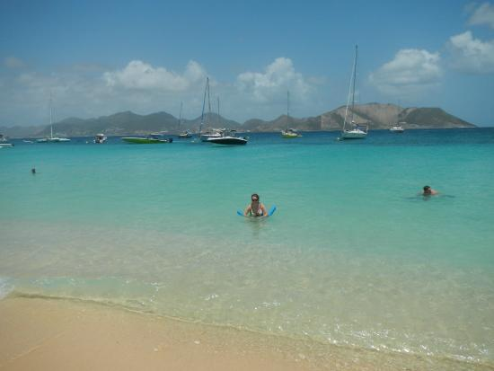 Oyster Pond, St. Martin: Beach after turtle watching