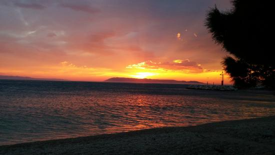Villa Anka: Sunset