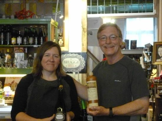 Bacchus Cornelius Beer and Jenever House: Inge is very helpful in selecting exactly what you're looking for.