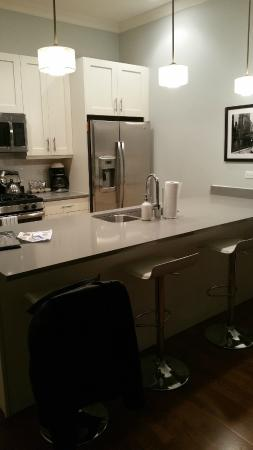 The Guesthouse Hotel: Fully Loaded Kitchen, Stainless Steel Appliances