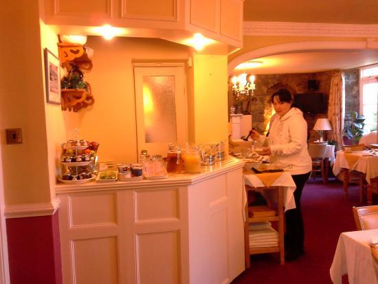 Lombard House Hotel : Salotto colazione e Cristina