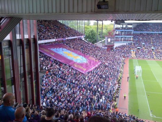 Fans In The Holte End Picture Of Villa Park Stadium Birmingham Tripadvisor