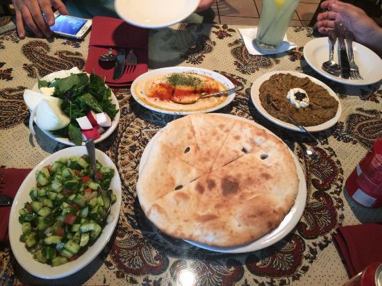 Cafe Caspian Restaurant Houston