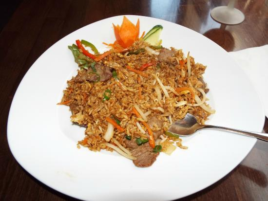 Tasty Asia: Fried Rice With Beef