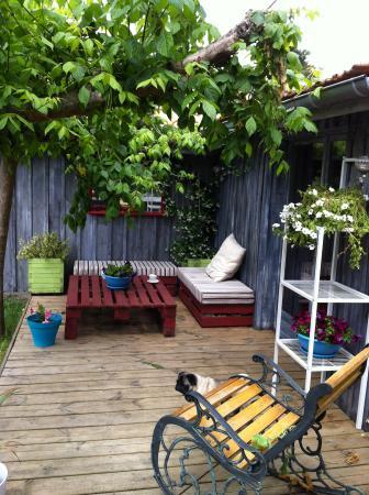 La Villa Thé au Salon : jardin