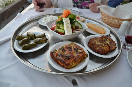 Sansibal Restaurant : Sansibal Vegetarian Selection