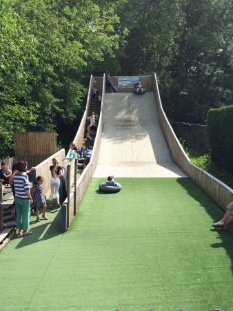 Fishers Farm Park: Tube slide