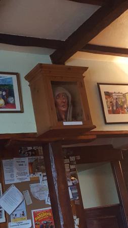 The Druid Inn: iconic wall decor