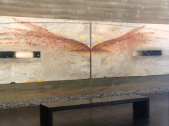 Palo Alto, CA: Windhover Diptych by Nathan Oliveira