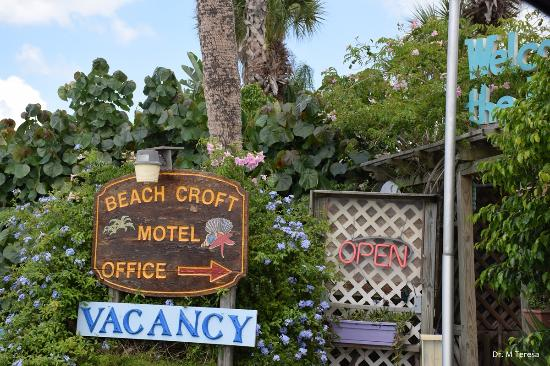 "Beach Croft Motel: Hotel has an ""island"" feel"