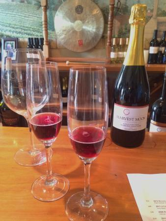Harvest Moon Winery: Sparkling Pinot