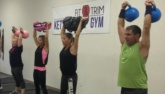 ‪Fit & Trim Kettlebell Gym‬